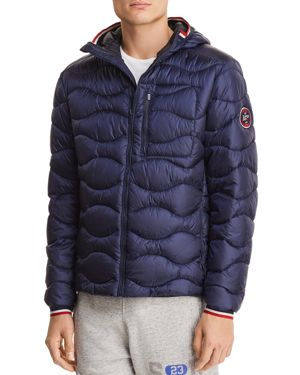 SUPERDRY WAVE QUILTED HOODED JACKET