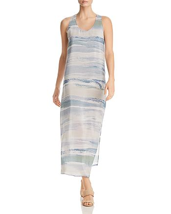 NIC and ZOE - Watercolor Stripe Maxi Dress