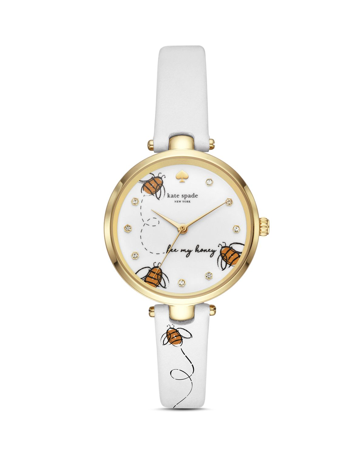 Holland Bee Graphic Watch, 34mm by Kate Spade New York
