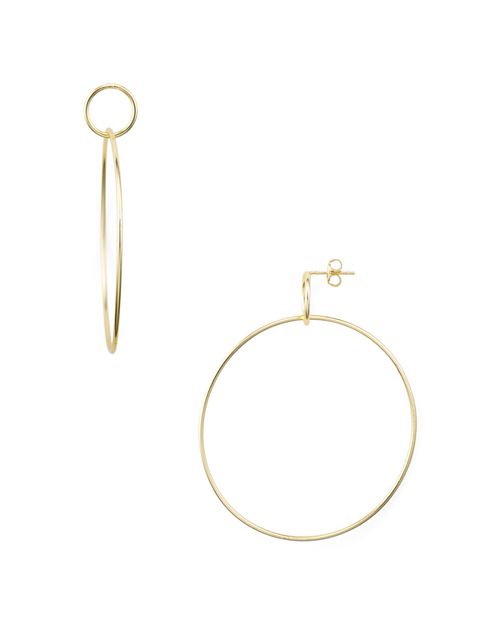 Argento Vivo - Large Double Loop Drop Earrings