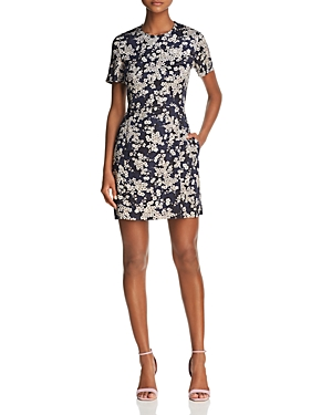 French Connection Rishiri Floral Print Mini Dress