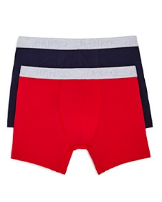 Hanro Cotton Essentials Boxer Briefs, Pack of 2 - Bloomingdale's_0