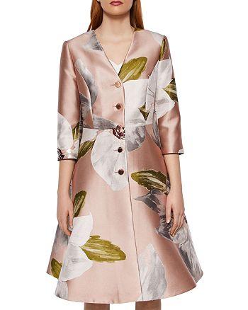 100ad4248 Ted Baker - Ottie Chatsworth Bloom Dress Coat