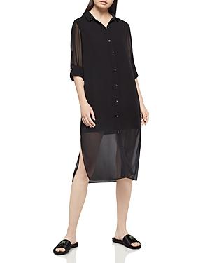 BCBGeneration Chiffon Shirt Dress
