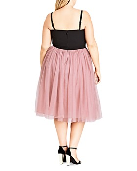 City Chic Plus - Princess Fit-and-Flare Dress
