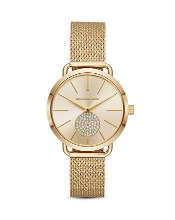 Michael Kors - Portia Mesh Bracelet Watch, 37mm