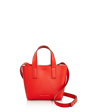 Loeffler Randall RIBBON MINI LEATHER SHOPPER