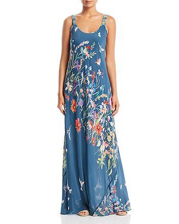 Johnny Was - Linsu Floral-Print Maxi Dress
