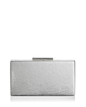 Aqua Metallic Box Clutch - 100% Exclusive