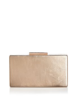 AQUA - Metallic Box Clutch - 100% Exclusive