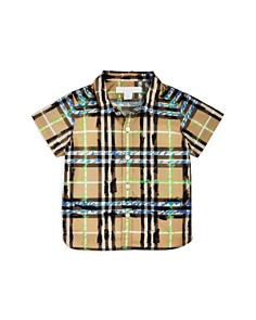 Burberry Boys' Scribble Check Shirt - Baby - Bloomingdale's_0