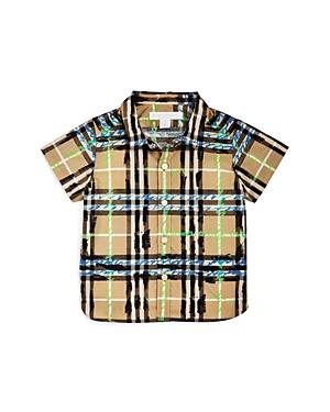Burberry Boys Scribble Check Shirt  Baby