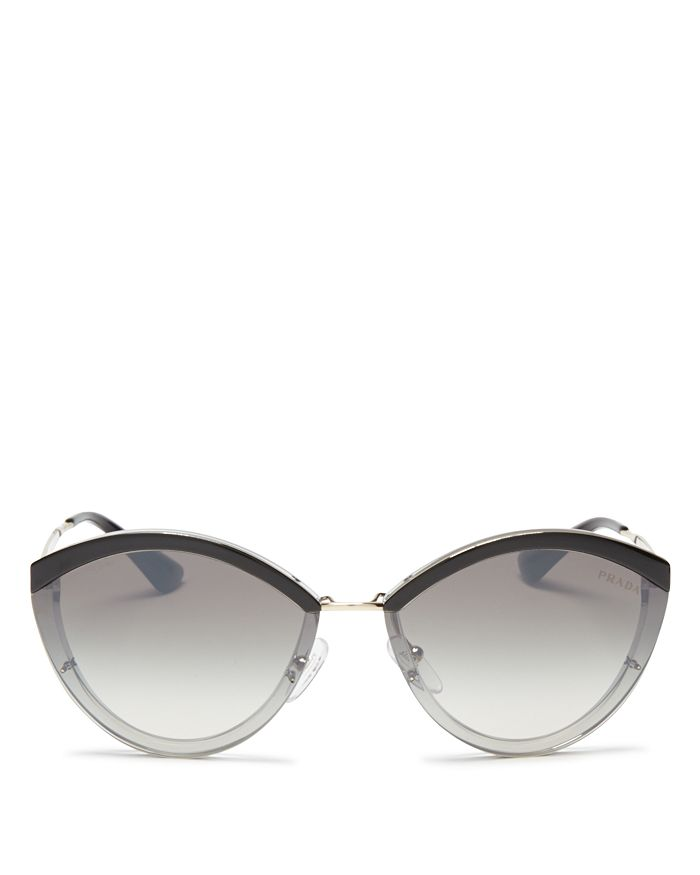 3f9fbaaae4 Prada - Women s Mirrored Oval Sunglasses