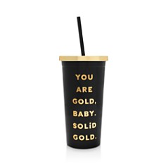 ban.do Deluxe Sip Sip Tumbler with Straw - You Are Solid Gold - Bloomingdale's_0