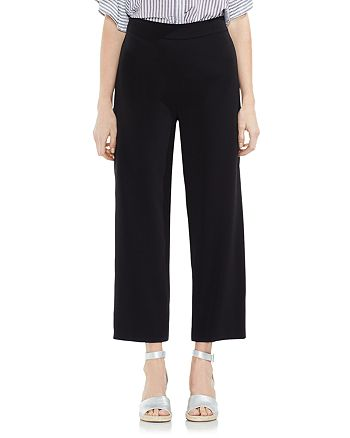 VINCE CAMUTO - High Waisted Wide Leg Ankle Pants
