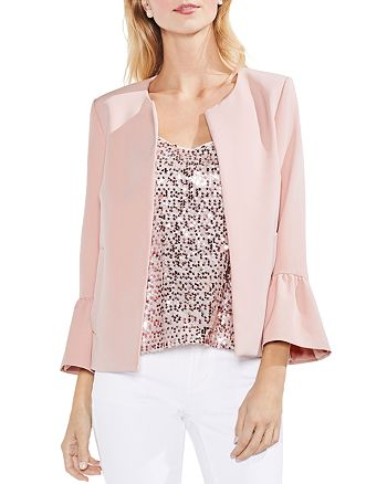 VINCE CAMUTO - Bell Sleeve Open Front Jacket