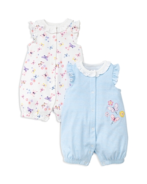 Little Me Girls Butterfly Rompers Set of 2  Baby
