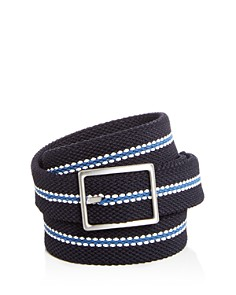 The Men's Store at Bloomingdale's Woven Stretch Stripe Reversible Belt - 100% Exclusive_0