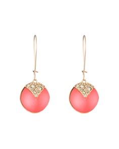 Alexis Bittar - Crystal Embellished Sphere Drop Earrings
