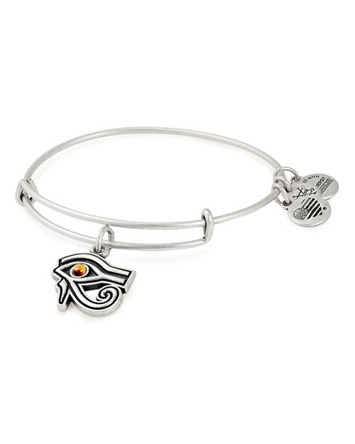 Alex and Ani - Eye of Horus Expandable Wire Bangle Bracelet