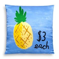 "kate spade new york - Pineapple Decorative Pillow, 20"" x 20"""