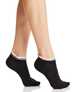 HUE Ruffle Shortie Socks - Bloomingdale's_0