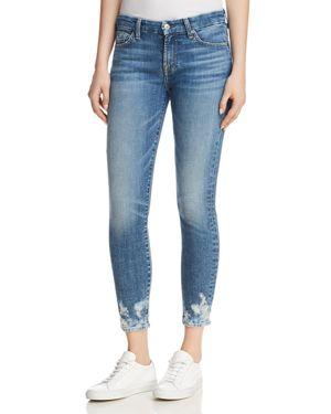 7 For All Mankind The Ankle Skinny Jeans in Desert Oasis 2 2881190