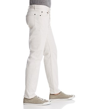 John Varvatos Collection - Woodward Straight Fit Jeans in White