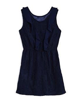 Bardot Junior - Girls' Hallie Ruffled Lace Dress - Big Kid