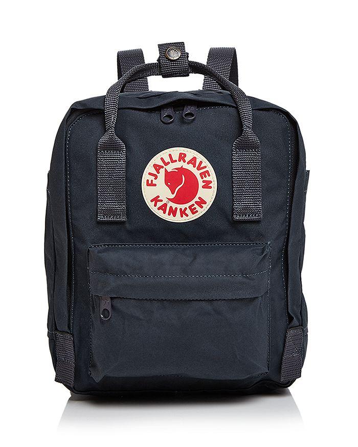Fjall Raven Kanken Mini Backpack In Navy