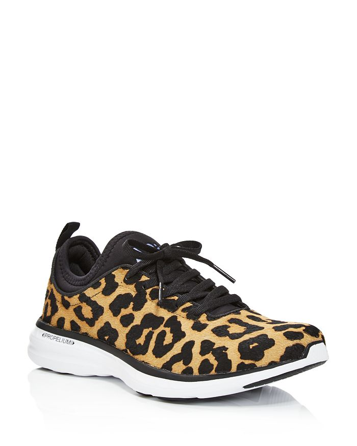 APL Athletic Propulsion Labs - Women's TechLoom Phantom Printed Calf Hair Lace Up Sneakers