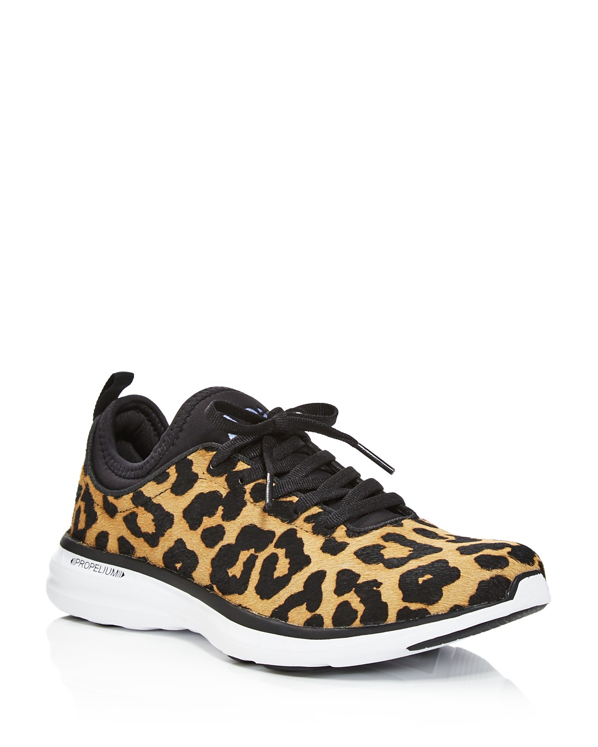 Calf Hair Lace-Up Sneaker IXMVFThRQ