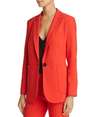ANINE BING Schoolboy Blazer in Red