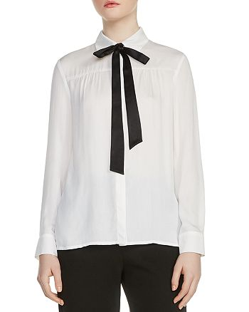 Maje - Caryota Bowtie Shirt