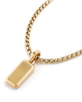 David Yurman - Streamline Amulet in 18K Gold