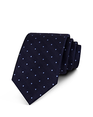 The Men's Store at Bloomingdale's Chevron Dot Classic Tie - 100% Exclusive