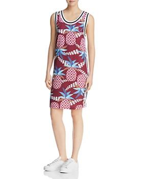 adidas Originals - Mixed Print Tank Dress