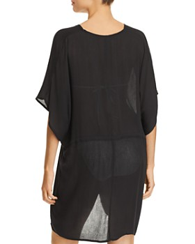 Echo - Open-Front Caftan Swim Cover-Up