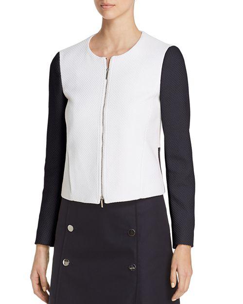 BOSS - Koralie Color Block Zip Jacket