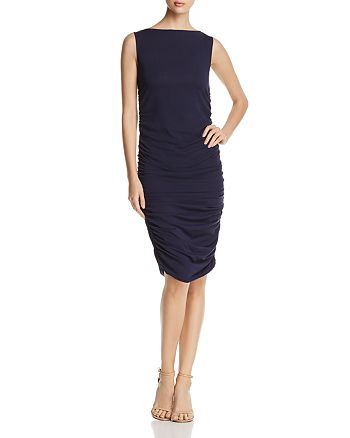Kenneth Cole - Sleeveless Ruched Dress