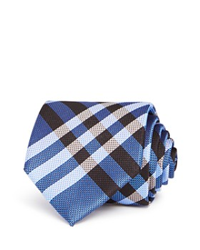 Burberry - Clinton Textured Check Classic Tie