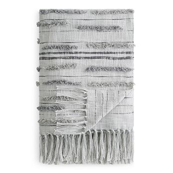 Sparrow & Wren - Textured Stripe Throw - 100% Exclusive