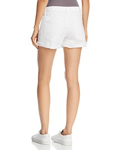 BLANKNYC - Cuffed Denim Shorts in Greate White
