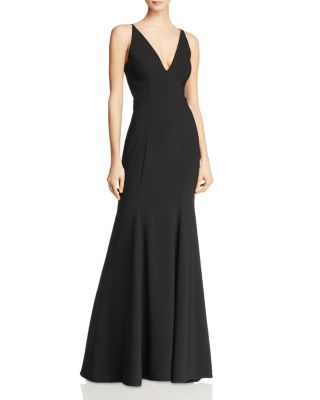 Crepe Mermaid Gown   100% Exclusive by Vince Camuto Petites