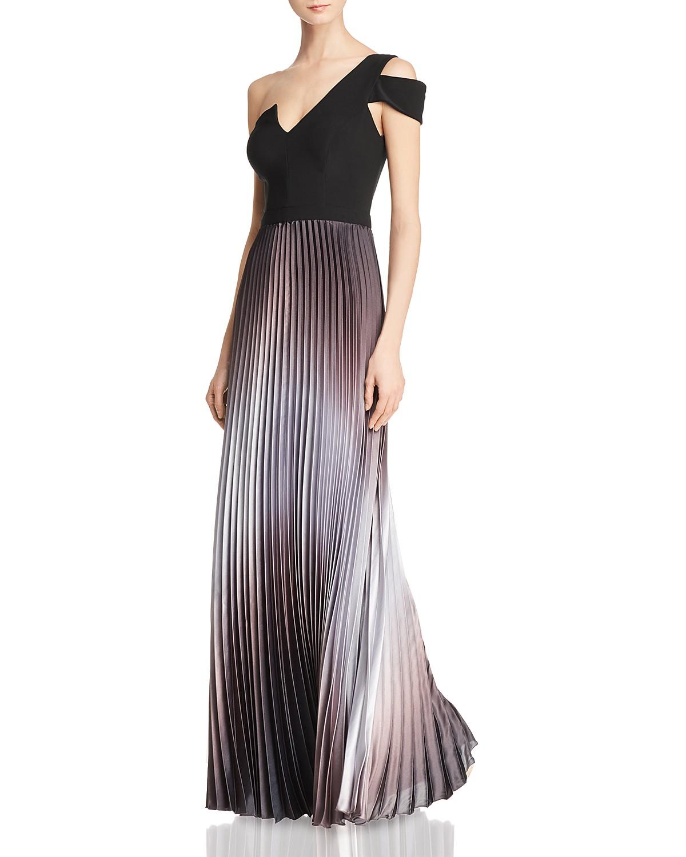 Aqua One Shoulder Ombr Gown 100 Exclusive Bloomingdales