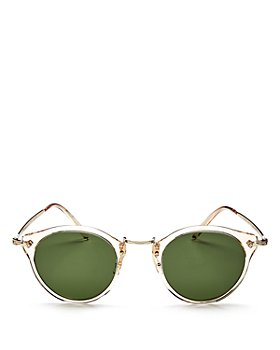 Oliver Peoples - Women's Vintage Round Keyhole Sunglasses, 47mm