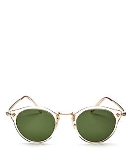 Oliver Peoples - Women's Round Sunglasses, 47mm