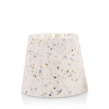 Paddywax - Confetti White Ceramic Saltwater & Lily Three-Wick Candle