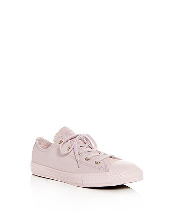 349483c23ebb64 Converse - Girls  Chuck Taylor All Star Leather Lace Up Sneakers - Toddler