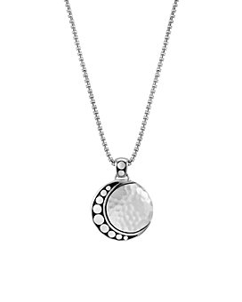 """JOHN HARDY - Sterling Silver Dot Hammered Moon Pendant Necklace, 16"""""""
